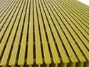 "Pultruded FRP 1/8"" x 4' x 8' gritted sheet"