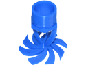 "Counterflow Nozzle - 2"" NPT Thread Orifice sizes 1/2"" - 2"""